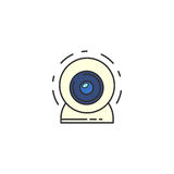 vector Webcam Icon. Stock Images