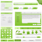 Vector Website Design Elements. Big collection Royalty Free Stock Photo