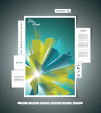Vector Website Design Template Royalty Free Stock Photo