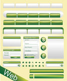 Vector Website Elements Royalty Free Stock Photo
