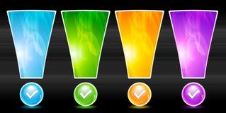 Vector website elements Stock Photos