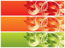 Vector website headers Royalty Free Stock Photography