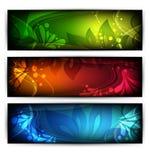 Vector website headers Stock Images