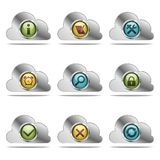 Vector website icons Royalty Free Stock Photo