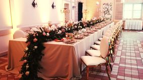 Vector wedding adornado Foto de archivo libre de regalías
