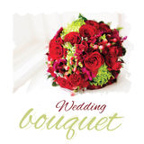 Vector wedding bouquet Royalty Free Stock Photography