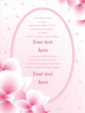 Vector wedding card or invitation Stock Images