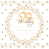 Vector Wedding Cards Royalty Free Stock Images