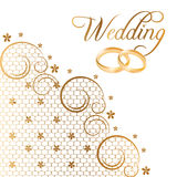 Vector Wedding Cards Royalty Free Stock Image
