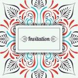 Vector Wedding Invitation. Stock Images