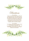 Vector Wedding Invitation With Floral Background. Hand Drawn Wat Royalty Free Stock Images