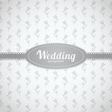 Vector wedding seamless pattern in classic style Stock Photo