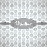 Vector wedding seamless pattern in classic style Royalty Free Stock Photo