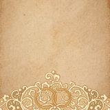 Vector wedding stationery Royalty Free Stock Photo