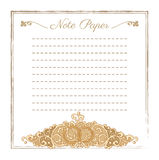 Vector wedding stationery Royalty Free Stock Images