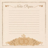 Vector wedding stationery Stock Images