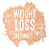 Vector weight loss healthy diet transformation Stock Photo