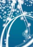 Vector Weihnachtshintergrund Lizenzfreies Stockbild