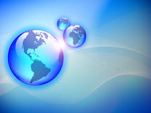 Vector wereld Stock Fotografie