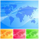 Vector wereld Stock Afbeelding