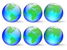 Vector wereld Royalty-vrije Stock Afbeelding