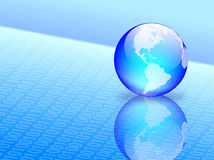 Vector wereld Stock Foto