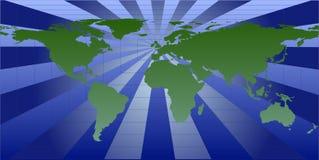 Vector Wereld stock illustratie