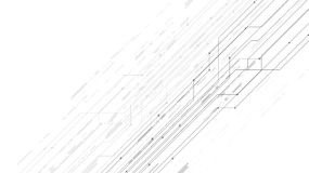 Vector white background abstract technology communication data S Royalty Free Stock Image