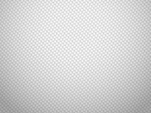 Vector white carbon fiber volume background Royalty Free Stock Photo