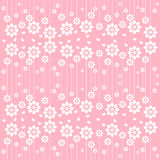 Vector of white flowers template Royalty Free Stock Photography