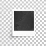 Vector white frames. Picture photo frame and shadow Stock Photography