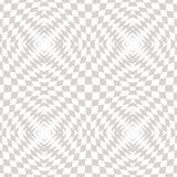 Vector white and gray abstract geometric checkered pattern, 3d optical ilusion. Vector white and gray geometric checkered pattern. Abstract seamless texture Royalty Free Stock Images