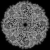Vector white lace Royalty Free Stock Photos