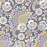 Vector White Lace. Seamless Pattern. Royalty Free Stock Photography