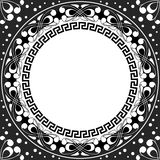Vector white pattern of spirals, swirls and chains Stock Images