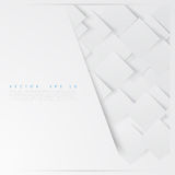 Vector white squares. Abstract background royalty free illustration