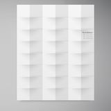 Vector white squares. Abstract backround Royalty Free Stock Photo