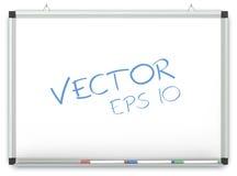 Vector Whiteboard Imagenes de archivo