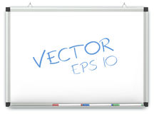 Vector Whiteboard. Stock Images
