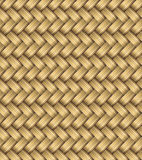 Vector Wicker Placemat Seamless Stock Image