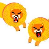 Vector wild illustration animal safari mammal design cat fe. Lion vector wild illustration animal safari mammal design cat feline Royalty Free Stock Photos