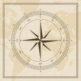 Vector Wind rose on a world map background. For web and Print use Stock Images