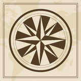 Vector Wind rose on a world map background. For web and Print use Royalty Free Stock Photo