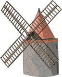 Vector windmill Royalty Free Stock Photos
