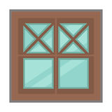 Vector window for interior and exterior design use. Stock Images
