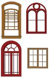 Vector windows Stock Photo