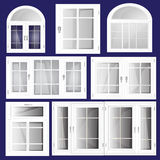 Vector Windows Stock Images
