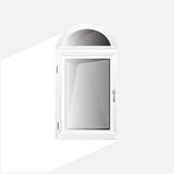 Vector Windows Plastic Glosed Stock Photography