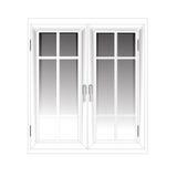 Vector Windows Plastic Glosed Stock Photography