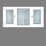 Vector windows plastic Stock Images